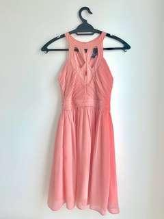 Peach lace dress #bundlesforyou
