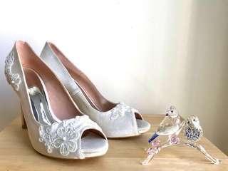 Bridal heels  #bundlesforyou