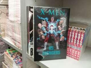 美國漫畫 MARVEL出版 X-MAN VS AVENGERS 硬皮書