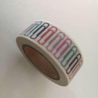 Paper Clips GJ1034 Washi Tape 15mm x 10m