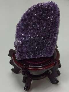 🚚 頂級紫水晶片擺飾