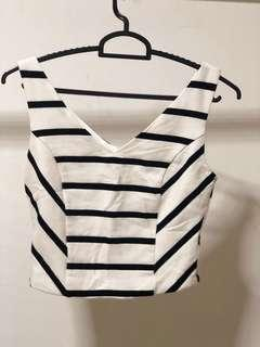 Crop TOP - stripe