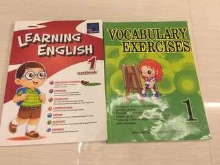 🚚 P1 English assessment book