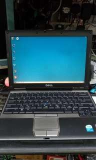 "Dell D420 12.1"" NOTEBOOKS 已安裝WIN7/XP及OFFICE軟件"