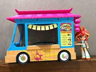 My Little Pony Equestria Girls' Rollin Sushi Truck (Good as New)