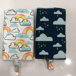 Reversible Drool Pads rainbow and raining stars suits tula boba lillebaby ergo etc toddler baby carrier protector
