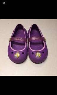 Crocs Disney princess rapunzel purple shoes