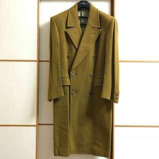 Courante Cashmere & Wool Overcoat