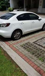 **CNY  PROMO $55 Per Day ..MAZDA 3 1.6A FOR RENTAL AT YOUR SERVICE(AVAILABLE FOR GRAB )