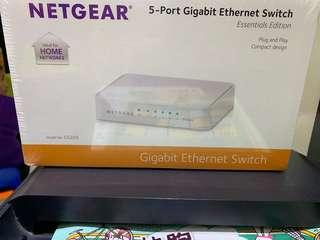 Brand New Netfear 5-Port Gigabit Ethernet Switch