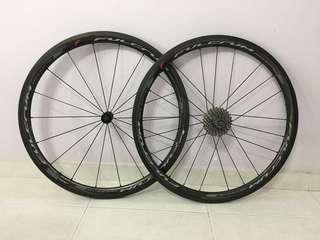 Fulcrum Racing Quattro Carbon wheelset