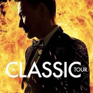 張學友 A Classic Tour 演唱會門票 香港站 Jacky cheung