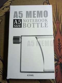 A5 Memo Notebook Bottle