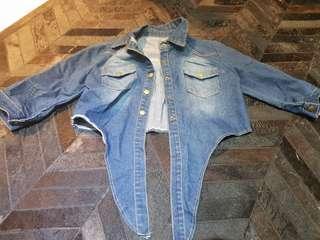 Jeans tie top