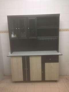 Kitchen cabinet : Almari dapur