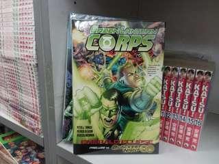 美國漫畫 綠燈俠 green lantern CORPS DC出版 硬皮書