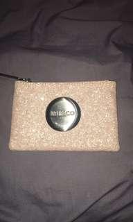 Pink mimco pouch