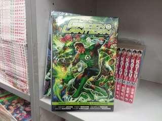 美國漫畫 綠燈俠 green lantern WAR OF THE GREEN LANTERNS  DC出版 硬皮書