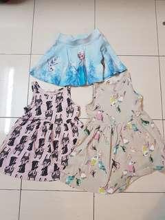 Combo H&M dress and skirt