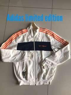 Adidas limited edition vintage I love st tropez jacket hoody