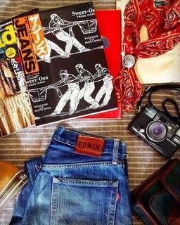 🇯🇵日本製Vintage Edwin 505SXX Denim (for Ladies)
