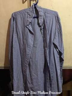 Uniqlo Long Sleeves Checker