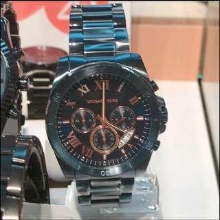 保證正品 MICHAEL KORS 男士手錶/2種款式可選擇