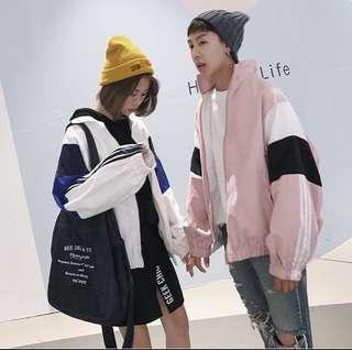 全新 韓版薄外套 運動外套 棒球外套