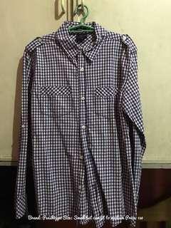 Penshoppe- Long Sleeves - Checkered
