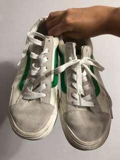 🚚 Vans style36 綠線