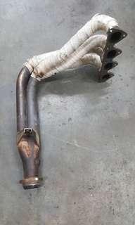 Honda civic eg ek b16b b18c b20b mugen extractor 4x2x1