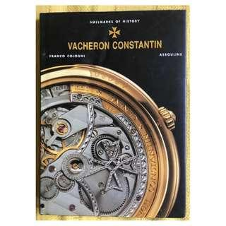 江詩丹頓Vacheron Constantin Collectible Rare Book Hallmarks of History Franco Cologni