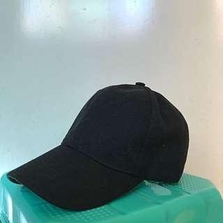 GREGORY basic black cap
