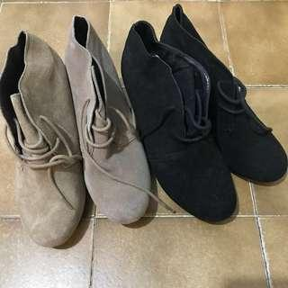 $100 for 2 dolce vita suede ankle boot