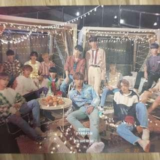 OFFICIAL SEVENTEEN You Make My Day Poster