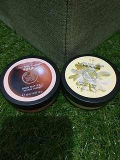 Body butter the body shop shea dan moringa