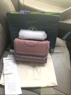 Tory burch fleming pink magnolia