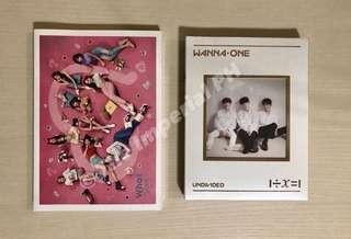 Twice What is Love? and Wannaone Lean On Me Albums [On-Hand]