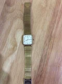 Vintage Gold Toned Seiko Watch