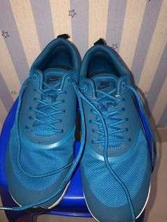Nike shoes original, nike womans air max thea, industrial blue, jarang dipakai