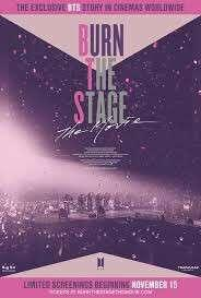 BTS Burn The Stage The Movie ticket