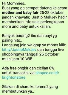 Mother and Baby Fair