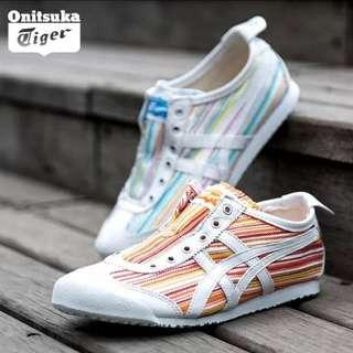Onitsuka Tiger Orange/White (Ladies US 8 / 25.0 cm)