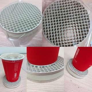 贈 陶瓷蜂網狀杯墊