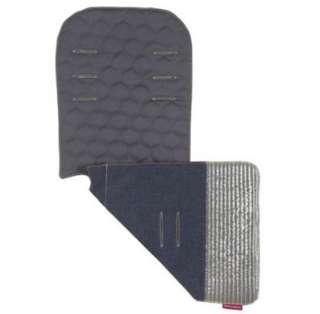 Limited Edition Brand NEW Maclaren Reversible Seat Liner in Denim Spinnaker - Indigo/Charcoal!