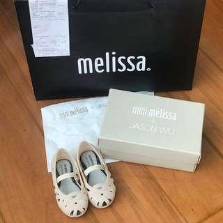 MINI MELISSA Jean + Jason Wu Jelly Ballet Shoes Size US 7 or Eur 22/23