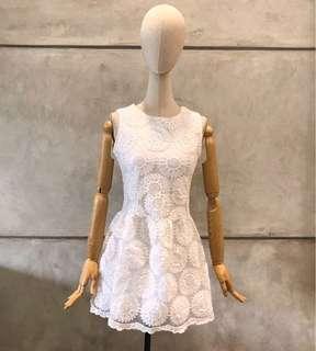 Bangkok Flower Lace Dress