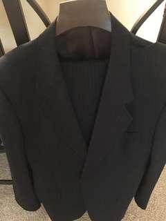 Pair of suits made of pure wool
