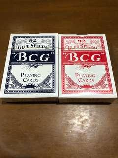Playing cards BCG Club Special Poker 92 (sealed)