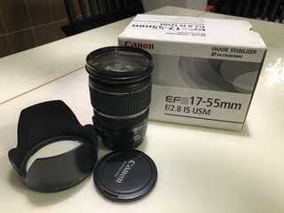 Canon 17-55 f2.8 lens
